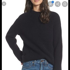 Madewell Northfield Mockneck Sweater